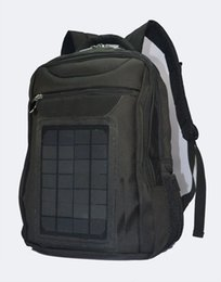 Wholesale Solar Charger Emergency Power Cell - Solar Power Backpacks Emergency Charger Bags Solar Power Camping Bags