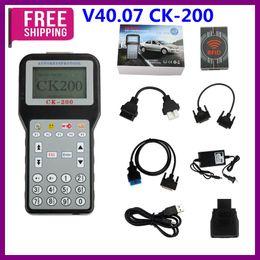 2019 programador clave hyundai Promoción V40.07 CK-200 CK200 Auto Key Programmer Versión actualizada de CK-100 Sin limitación de fichas Envío de alta calidad programador clave hyundai baratos
