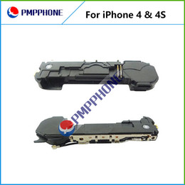 Wholesale Iphone 4s Speaker Buzzer - Replacement parts Loud Speaker Ringer Buzzer with Wifi Antenna Flex Cable Loudspeaker Replacement repair parts For iPhone 4 4S