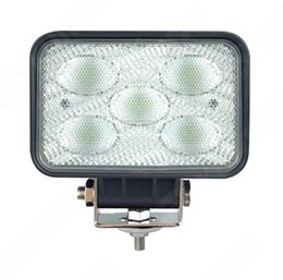 Wholesale Waterproof Led Lights For Atv - 5.7 inch 50W LED Work Light 12V~30V DC Driving Offroad Light For Boat Truck Trailer SUV ATV LED Fog Light Waterproof KF-L2084