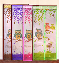 Wholesale New Colors Hight Quality Door Mosquito Net Magnet in window Mosquito Curtains Tulle Soft Screen Door Moustiquaire Porte