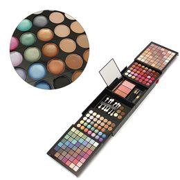 Wholesale Brow Shader - 177 Color Makeup Cosmetic Set Eye Shadow Blush Lip Gloss Brow Shader Concealer Palette Gel Brush Kit Tools