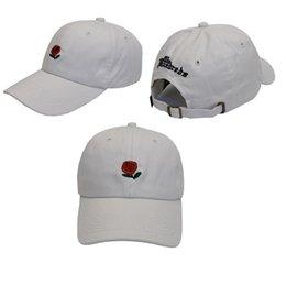 Wholesale Hat Parts - 2016 popular rare the pop cap Brand Hundreds Rose Strap Back Cap men women Adjustable 6 panel golf polos snapback baseball hats Parts II