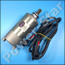 Wholesale Motor Quad - Wholesale- JIANSHE BAJA 250cc ATV JS250 250 Quad Electric Starter Motor Assy 9 Teeth