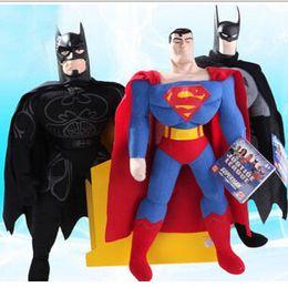 """Wholesale Batman Superman Toy - 1pcs 10"""" 25cm Wholesale Best-selling Toy Spiderman, Batman, Superman,High Quality,Plush Toy, Children's Christmas Gift"""