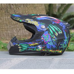 Wholesale Motocross Moto Racing - Motocross helmet Motorcycle off-road downhill quality moto Motorbike helmets ECE racing helmet capacete motorcycle hot selling