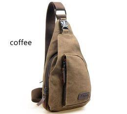 Wholesale Military School Bags - Leisure Outdoor School Bags Cycling Hiking Sport Canvas Bag Simple utility Men Women Diagonal Backpack travel Military KJG3860#bag