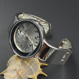 Wholesale Heart Shape Watches - Fashion Women Girl Chaoyada heart-shaped round dial full Stainless steel Bracelet Wrist Watch 1109