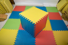 Wholesale Play Mats Babies - Baby Mat EVA Foam Interlocking Exercise Gym Floor Play Mats Protective Tile Flooring Carpets 30X30 cm