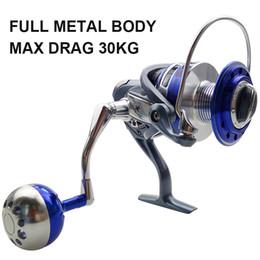 Wholesale China Reels - 13BB Ball Bearings Full Metal Body Fishing Reels China Aluminum Alloy Saltwater Fishing Spinning Reel MX4000-7000