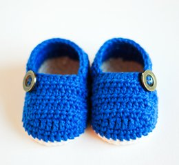 Wholesale Polka Dot Knit Fabric - Free shipping!100% handmade baby Loafers,CROCHET PATTERN infant Booties,spring blue walking shoes,knitted toddler shoes!10pairs 20pcs