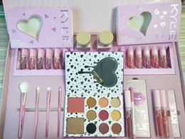Wholesale free gift packs - Limited Edition Birthday Valentine's Day Gift Pack, Lip Gloss Blush Eye Shadow 12 Gift Pack Free Shipping