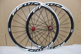 Wholesale Road Bike Wheel Sticker - FFWD F4R white black sticker 38mm road bike wheels alloy brake surface carbon wheelset R36 hubs carbon fiber clincher wheelset 10 11speed