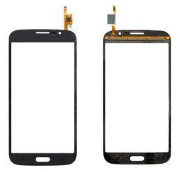 Wholesale Mega Logo - Touchscreen Digitizer Glass Panel Front Glass Lens Sensor for Samsung I9150 Galaxy Mega 5.8, I9152 with Logo Free shipping+tools