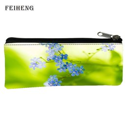 Wholesale Fresh Offers - Wholesale- Special Offer 2016 Hot Sale Polyester 100% Printing Fresh Kid Key Wallets Black Pencil Bags for Teenagers Coin Purses for Boys