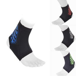 Wholesale Elastic Brace Guard Support Sports - Hot Sale Sports Ankle Pad Safety Ankle Protection Elastic Brace Guard Soft Support Sports For Football Basketball Outdoor