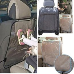 Wholesale Car Seats For Children - Car Seat Back Cover Protectors for Children Protect back Seat Covers Baby Mud Dirt Car styling Accessories Children Kick Mat KKA3251