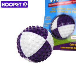 Wholesale Tpr Toys - Hoopet Pet Toy Playing Toy Dog Chew Puppy Fetch Chew Tpr Ball Training Elastic Ball