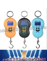 Wholesale Hanging Fishing Scales - 40kg 10g Portable Electronic Digital Scale Hanging Scale Fishing Fish Hook Pocket Weighing Balance Scale with led light LLFA