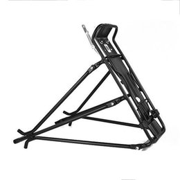 Wholesale Bike Rear Carrier Rack - Wholesale-2016 Mountain bicycle racks rear carrier Quick release Aluminium Peso max Load alloy Bike Carg Racks Disc brake free shipping