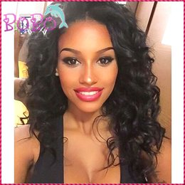 Wholesale Classic Indian Wave - Classic 100% Percent Full Lace Human Hair Wigs Glueless Brazilian Lace Front Wigs Best Quality Human Hair With Baby Hair