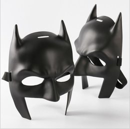 Wholesale Wholesale Adult Super Hero Masks - Super Heroes Batman Mask Batman v Superman: Dawn of Justice Half Mask Masquerade Cosplaly Mask Props One size for most adult and child