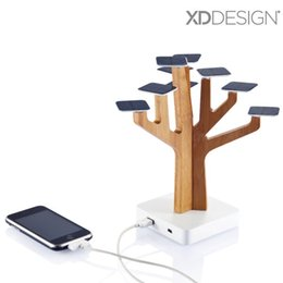 2019 solarbetriebene handys Großhandel 100% Original XDDesign Solar Suntree Heimtextilien mit Ladegerät für MP3 / MP4-Player, Handy, Solar Suntree Power Bank Ladegerät günstig solarbetriebene handys