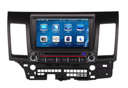 Wholesale Gps For Lancer - Car DVD Player GPS Navigation for Mitsubishi Lancer 2007-2013 with Navigator Radio Bluetooth TV SD USB AUX Map Auto Stereo Video Audio