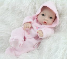 Wholesale Dolls Buy - NPK 10 Inches Mini Full Vinyl Buy Reborn Baby Dolls For Girls Lifelike Hobbies Real Looking Baby Dolls Toys For Girl Fashion