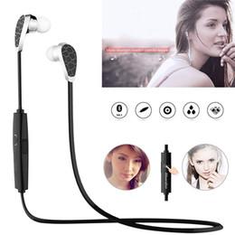 Wholesale Bluetooth Headset Multi Point - 1 PCS N2 Bluetooth V4.1 Earphone HIFI In Ear Earbud Headphone Wireless Sports Stereo Headset Multi-point Sweat Proof With Mic