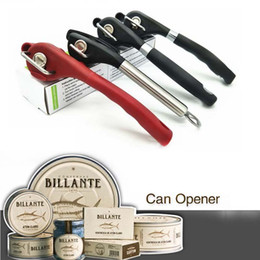 Wholesale Manual Design - Manual Safety Side Cut Can Opener Ergonomic Smooth Edge Anti-slip Grips Handle Stainless Steel Design for Kitchen and Restaurant 4 types