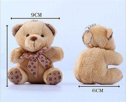 Wholesale Mini Bearings - 10cm Teddy Bear Plush Toys the Most Popular Plush Key Chain Toys Cartoon Animals Doll Mini Plush Furnishing Articles