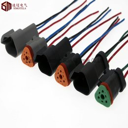 Wholesale Car Bus Truck - Deutsch DT06-3S DT04-3P and P006 3Pin Engine Gearbox waterproof electrical connector,cummins plug for car,bus,truck,boats