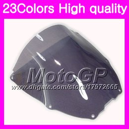 Wholesale Rc51 Sp2 - 23Colors Windscreen For HONDA VTR1000 2000 2001 2002 2003 04 2005 2006 RC51 SP1 SP2 VTR 1000 Chrome Black GPear Smoke Windshield
