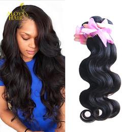 Toptan Işlenmemiş Brezilyalı Perulu Malezya Hint Virgin İnsan Saç Dokuma Paketler Vücut Dalga Remy İnsan Saç Uzantıları Doğal Renk cheap wholesale virgin remy human hair nereden toptan bakire remy insan saçı tedarikçiler