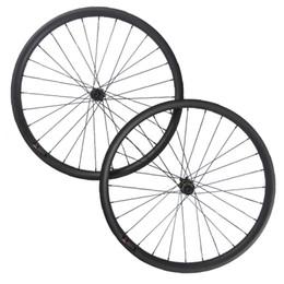 Wholesale Wheels For Mountain Bike 26 - High quality MTB carbon wheel 27.5ER 40mm width carbon wheelset for mountai bike fiber Mountain wheel