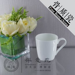 Wholesale Tea Cups Saucers Wholesale - 350ml Fine Bone China Square Mug Porcelain COffee Cup ceramics water cup mug milk cup tea cup & saucer ceramics