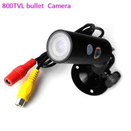 Wholesale Security Sensors Camera - 800TVL Pinhole Bullet Security Camera CMOS Sensor Mini Metal shell For Home Surveillance