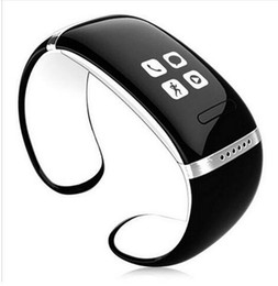 Wholesale Green Display Iphone - BTL Smart Wristband L12S OLED Display Bluetooth Bracelet Wrist Watch for IOS iPhone Samsung & Android Phones