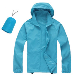 Wholesale Gore Tex Waterproof Jacket - Spring and summer fashion men outdoor jackets waterproof sunscreen UV speed drying fast drying oversized XS-XXXL