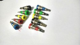 Wholesale Female Terminal - 50pcs 5 colors 4mm Banana Socket terminal for 4mm Banana Plug connector
