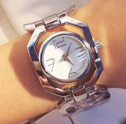 Wholesale Birthday Dress Women - New AAA Luxury Watch Dress Lady Women watches Hollow Bracelet Steel Band Quartz Wristwatches For Women Girl Birthday Gift free shipping
