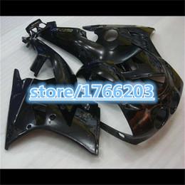 Wholesale Zx 14 Fairing Set - molding ABS full fairing kit for kawasaki Ninja 250R 2008-2014 ZX250R ZX 250 08-14 EX250 all glossy black fairings set