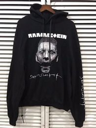 Wholesale Zombie Sweatshirt - 2018 NEW Best version Autumn winter 17FW VETEMENTS zombie Einstein German chariot thin Women Men hoodie Sweatshirts