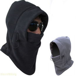 Wholesale Snowboard Scarf Mask - Outdoor Sports Hats Caps Ski Winter Hat Full Face Nodding By Bicycle & Snowboard Sport CS Mask Caps Fashion Hooded Scarfs Thickening Multifu