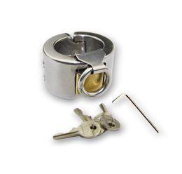 anillo de resina transparente Rebajas EE. UU. Nuevo Dispositivo de Anillo de Dientes de Acero Inoxidable para Hombre de Castidad Masculina de Kali Fetish # R172