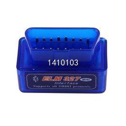 Wholesale Cheap Obd2 Scanner - 1pcs ELM327 V2.1 OBD2 II Bluetooth Mini Diagnostic Car Auto Interface Scanner Tool Diagnostic Tools Cheap Diagnostic Tools
