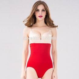 Wholesale Selling Waist Trainers - Wholesale-Top selling New Arrival Postpartum Women Butt Lifter Plus Size Panties Slimming Body Shapewear High Waist Trainer Abdomen Pants