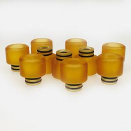 Canada DHL libre pei en plastique drip tips rda réservoir bobine pour ego batterie atomiseur embout large alésage vase Ming 6 styles goutteurs c Offre