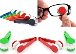 Wholesale Spectacle Cleaning - SALES NEW hot multi colors Essential Microfibre Glasses Cleaner Microfibre Spectacles Sunglasses Eyeglass Cleaner Clean Wipe